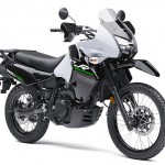 2014 Kawasaki KLR650 New Edition Pearl Stardust White_2