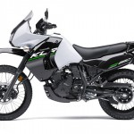 2014 Kawasaki KLR650 New Edition Pearl Stardust White_3