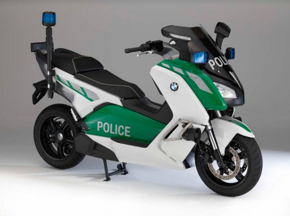 BMW C Evolution Police-Spec Electric Scooter