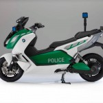 BMW C Evolution Police-Spec Electric Scooter _2