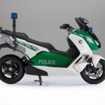 BMW C Evolution Police-Spec Electric Scooter _3