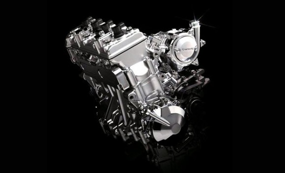Kawasaki Intoduces Supercharged Inline-Four Engine