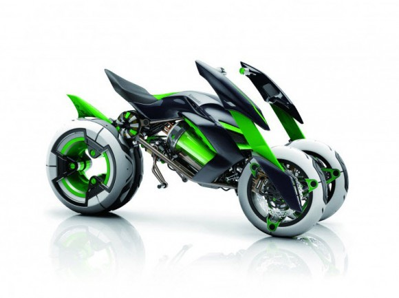 Kawasaki J Electric Three-Wheeler Concept