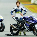 Rossi and Yamaha R25 250cc Sportbike Prototype