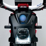 Suzuki Extrigger Electric Monkey Bike Concept Headlight