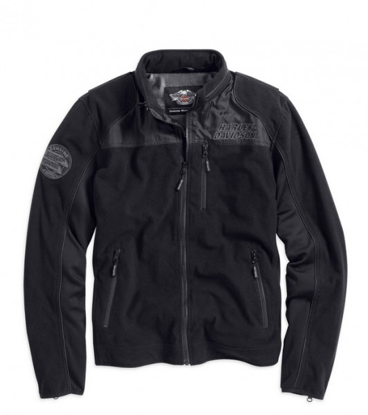 Harley-Davidson Windproof Fleece Jacket for Men