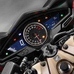 2014 Honda VFR800 Interceptor Instrument Display