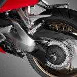 2014 Honda VFR800 Interceptor Rear Tyre