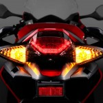 2014 Honda VFR800 Interceptor Tail light