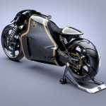 2014 Lotus C-01 Motorcycle Black