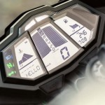 2014 Yamaha YZF-R125 Europe-Specs Instrument Display