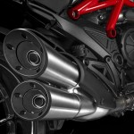 2015 Ducati Diavel Exhaust System