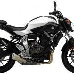 2015 Yamaha FZ-07 Bluish White