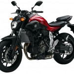 2015 Yamaha FZ-07 Vivid Red