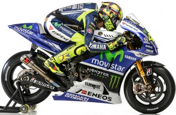 Valentino Rossi 2014 Yamaha YZR-M1 MotoGP Livery