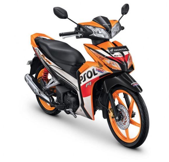 2014 Honda Blade 125 FI for the Indonesian Market