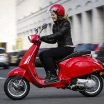2014 Vespa Sprint Red