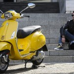 2014 Vespa Sprint Yellow