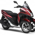 2014 Yamaha Tricity Anodized Red