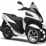 2014 Yamaha Tricity Competition White
