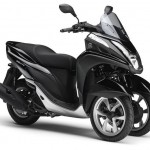 2014 Yamaha Tricity Midnight Black