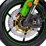 2015 Kawasaki Ninja ZX-6R 30th Anniversary Edition Front Brake