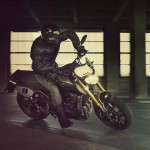 2014 Yamaha MT-09 Street Tracker In Action
