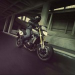 2014 Yamaha MT-09 Street Tracker In Action_4