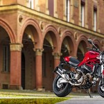 2015 Ducati Monster 821 Red