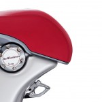2014 Vespa 946 Bellissima Limited Edition Seat Detail