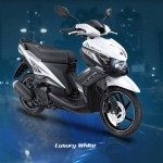 2014 Yamaha GT125 Luxury White