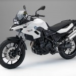 2015 BMW F700GS Alpine White