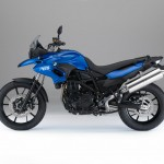 2015 BMW F700GS Racing Blue Metallic Matt