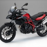 2015 BMW F700GS lack Storm Metallic Racing Red