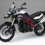 2015 BMW F800GS Light White Black Storm Metallic
