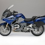 2015 BMW R1200RT San Marino Blue Metallic with Granite Grey Metallic Matte