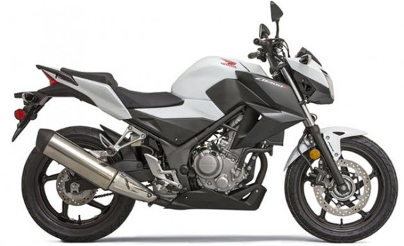 2015 Honda CB300F ABS White Heading To Canada