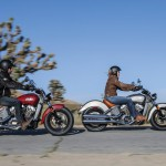 2015 Indian Scout In Action