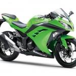 2015 Kawasaki Ninja 250 Lime Green