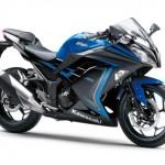 2015 Kawasaki Ninja 250 Special Edition Candy Plasma Blue Ebony
