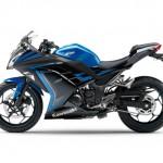 2015 Kawasaki Ninja 250 Special Edition Candy Plasma Blue Ebony_1