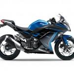 2015 Kawasaki Ninja 250 Special Edition Candy Plasma Blue Ebony_2