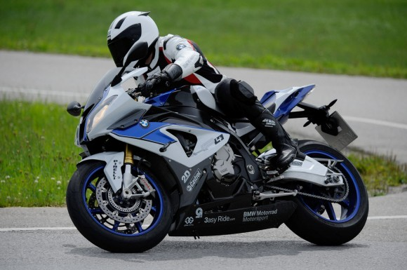 BMW HP4 with New ABS Pro