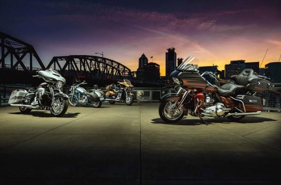 2015 Harley-Davidson CVO Lineup
