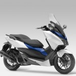 2015 Honda Forza 125 Matt Pearl Cool White with Blue
