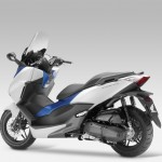 2015 Honda Forza 125 Matt Pearl Cool White with Blue_3