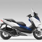 2015 Honda Forza 125 Matt Pearl Cool White with Blue_4