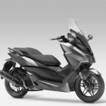 2015 Honda Forza 125 Moondust Silver Metallic with Matt Cynos Grey Metallic