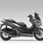 2015 Honda Forza 125 Moondust Silver Metallic with Matt Cynos Grey Metallic_1
