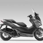 2015 Honda Forza 125 Moondust Silver Metallic with Matt Cynos Grey Metallic_1